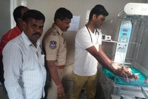 Miracle in Telangana: One-day old infant survives after being dumped...