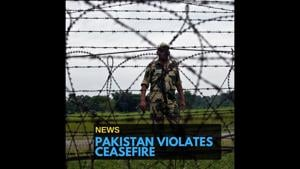 An Army jawan injured in ceasefire violation by Pakistan in Poonch...