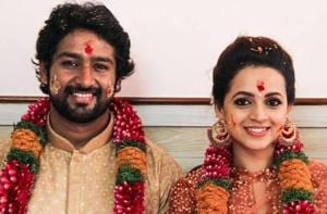 Malayalam actor Bhavana marries Naveen. See inside pics from her...