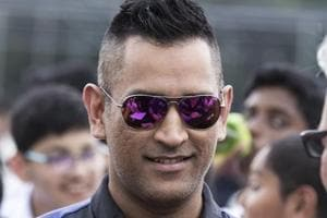 Former India captain MS Dhoni opened a cricket academy in Singapore on...