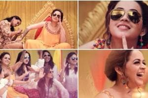 Watch the viral mehendi video of Bhavana and her girl gang dancing on...