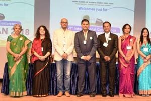 Anand Kurian (fifth from left) of Event Management Development Institute of Singapore (MDIS) was the chief guest at the conference.