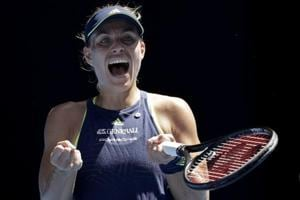 Australian Open tennis: Angelique Kerber survives scare en route to...