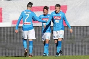 Napoli beat Atalanta in Serie A, Inter Milan continue winless run