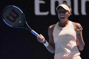 Australian Open tennis: Madison Keys storms into last eight