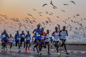 Mumbai Marathon: 44,407 step out to make it a success