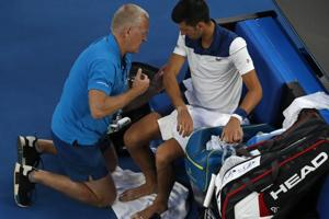 Novak Djokovic says he is struggling with elbow injury after loss vs...