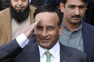 Former Pakistan envoy to US Hussain Haqqani booked for 'maligning'...