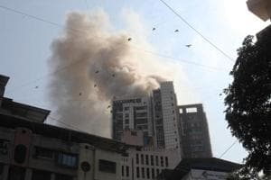 Thane police lauded for saving lives from a 26-storey building fire