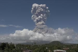 Philippine volcano spews lava, molten rocks as authorities warn of...