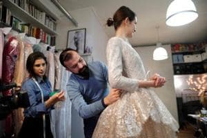 Fashion forward: Craft and technology mingle at French couture house...