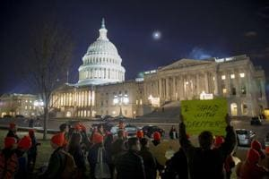 US Senate postpones vote on ending shutdown to noon Monday