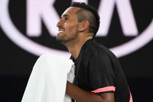 Australian Open: Maturing Nick Kyrgios in better 'head space' after Rd...