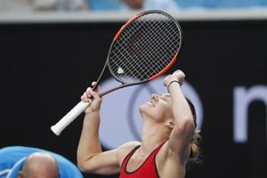 Simona Halep, world number one, enters Australian Open Tennis...