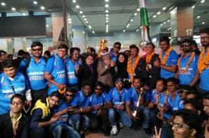 After winning the Blind Cricket World Cup for India, players have...
