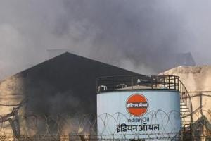 India oil refiner IOC says two died in fire at Panipat site