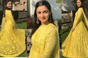 Alia Bhatt's Manish Malhotra anarkali at best friend's wedding is a...