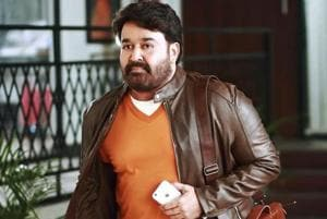 Mohanlal's look in action-adventure film directed by Ajoy Varma...