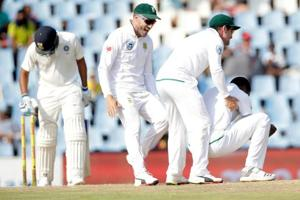South Africa motivated to complete Test series whitewash vs India: Faf...