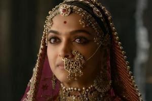 Deepika Padukone as Rani Padmini in Padmaavat.