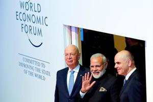 Globalisation is losing its lustre, Modi tells Davos summit
