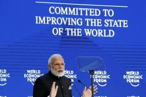 Climate change, terrorism are major challenges: PM Modi at Davos