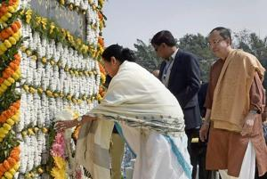 It's a shame, we still don't know what happened to Netaji: Mamata on...