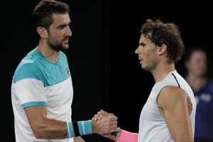 Marin Cilic sympathises with injured Rafael Nadal at Australian Open