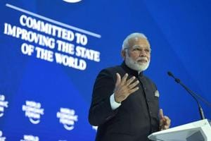 Modi's speech at Davos: Just what the audience wanted to hear