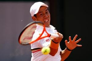 Kei Nishikori beaten in low-key tennis return from injury