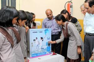 Under the Amodini project, a Ludhiana-based Versatile Enterprises Limited company installed pad-dispensing machines and incinerators in 14 government schools in the city.