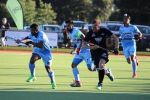 India edge out New Zealand 3-2 in 2nd leg of four-nation hockey...