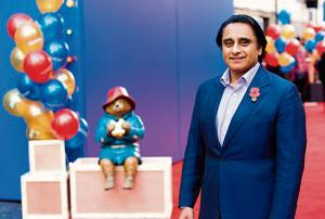 Actor Sanjeev Bhaskar was recently seen in Paddington 2, about a teddy bear in London.