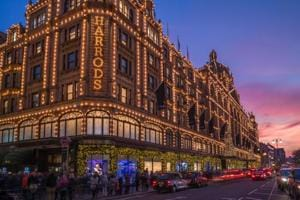 The iconic Harrods, London.