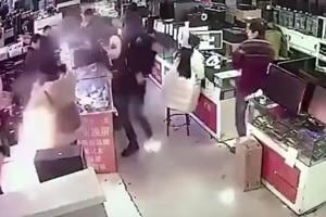 Watch: iPhone battery explodes in China after man bites it