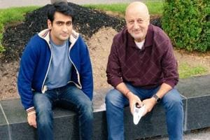 Anupam Kher congratulates Kumail Nanjiani on his Oscar nomination for...