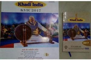 For second year running, Modi features in Khadi calendar