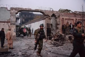 IS fighters storm Save the Children office in Afghanistan's Jalalabad,...