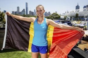 Belgium's Elise Mertens keeps calm, collected in Australian Open...
