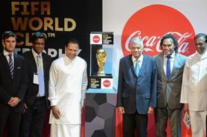 FIFA World Cup trophy arrives in Sri Lanka to kick off global tour
