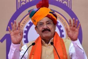 Ramrajya is governance sans fear, corruption, discrimination: Naidu
