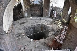 Built in 1820s, the 'Shore's Well' in Dehradun lies in a neglected state.
