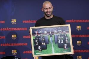Barcelona confirm Javier Mascherano departure for China's Heibei