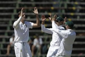 Day 1 of the third and final Test more or less belonged to South Africa as India were bowled out for 187 at the Wanderers Stadium in Johannesburg on Wednesday.