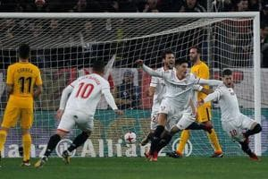 Atletico Madrid knocked out of Copa del Rey by Sevilla
