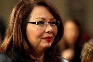Tammy Duckworth set to be first US senator to give birth in office