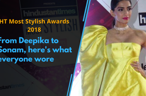 Celebrities adorned the red carpet at the HT India's Most Stylish...