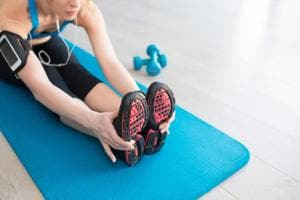 At-home workouts deliver challenging routines with easy to follow instructions.