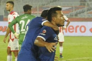 Chennaiyin FC do double on ISL champions ATK, move to top of the table