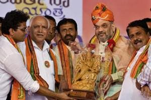 Siddaramaiah govt 'corrupt, malicious, oppressive', says BJP chief...